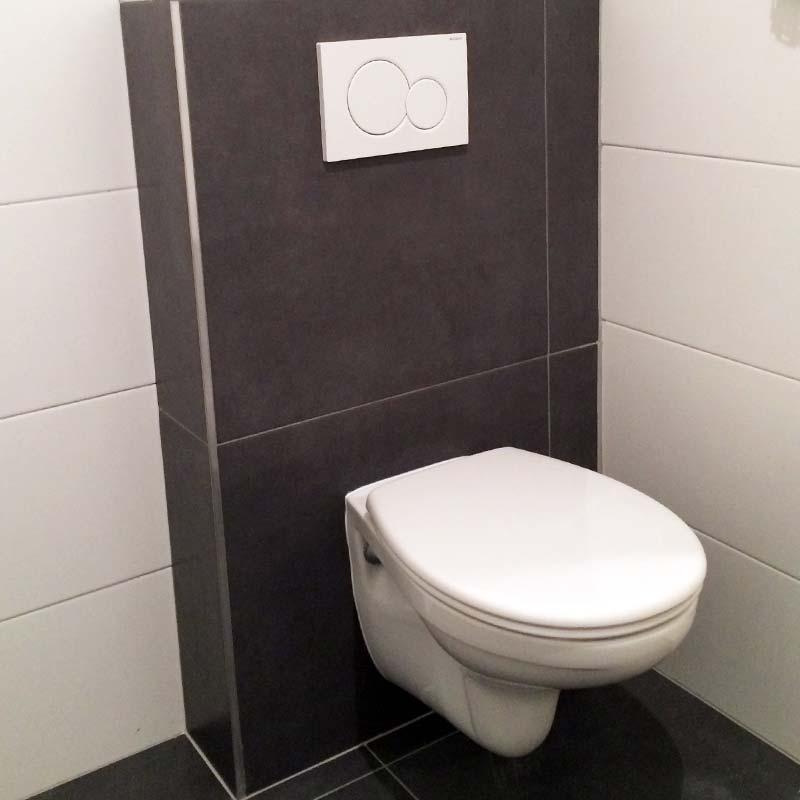 sanitair aansluiten, wc aansluiten, hangtoilet installeren, waterleiding aanleggen, badkamer installeren