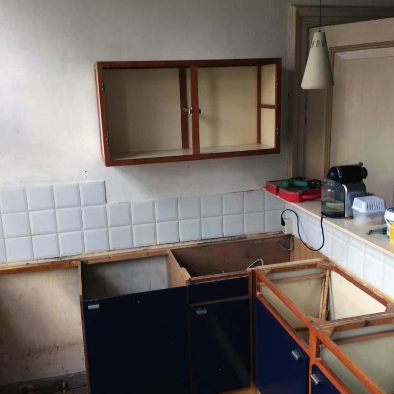 keukenrenovatie, keuken renoveren, keuken opknappen, groningen, klusbedrijf Groningen